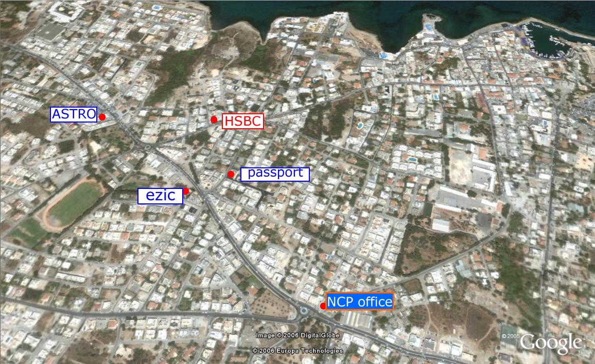 Kyrenia Map - City Map - West Kyrenia Map - East Kyrenia Map and more